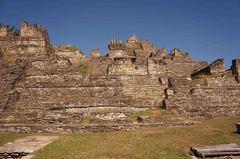 Gran Pirámide vista lateralmente