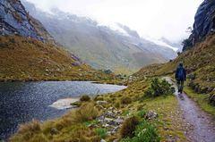 De vuelta desde la Laguna 69, Parque Nacional Huascarán