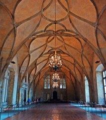 Salón de baile del Palacio Real del Castillo de Praga