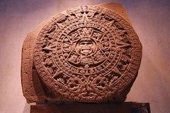 Piedra del Calendario Azteca