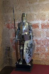 Antigua armadura, Castillo de Peñafiel
