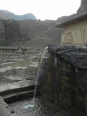 Fuente de culto a deidad del Agua, Ollantaytambo