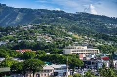 Vista de Tahití