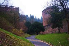 Jardines del Palacio de Heidelberg, Alemania