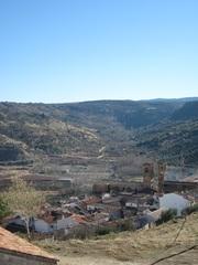 Vista desde lo alto del pueblo