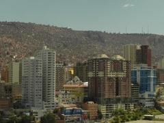 La ciudad de La Paz, Bolivia