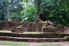 Zona habitacional de Palenque