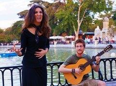 Flamenco en el Parque del Retiro, Madrid
