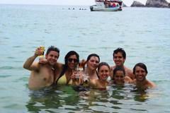 Un chapuzón en la Bahía del Maguey