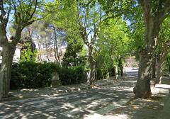 Calle al castillode Gelida
