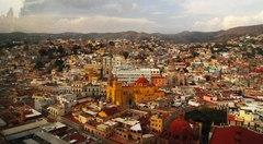 Vista de Guanajuato desde el mirador del Pípila