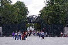 Entrada al Bosque de Chapultepec