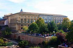 Palacio de Carlos V, la Alhambra, Granada