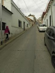 Subiendo las empinadas calles de Sucre