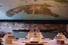 Réplica miniatura de Tenochtitlán