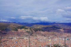 La Paz y el Valle de la Luna
