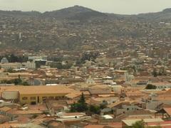 Vista panorámica de la Ciudad Blanca, Bolivia