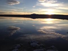 Sublime puesta De Sol Laguna Tebinquinche