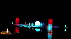 Explosiones de colores en el Espectáculo del Agua