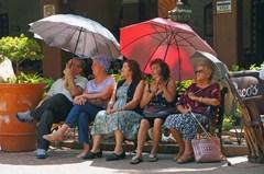 El público en El Parián, Tlaquepaque