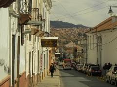 La ciudad de Sucre, Bolivia