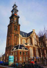Iglesia Westerkerk en Ámsterdam