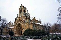 Iglesia dentro del Castillo de Vajdahunyad, Budapest