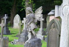 Detalle de la necropolis de Huddersfield