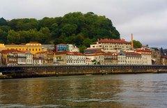 Vista de Oporto desde el río Duero