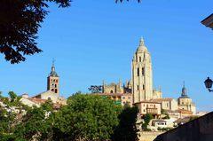 Catedral de Segovia, vista desde su Alcázar