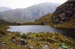 En la cima rumbo a la laguna 69, Parque Nacional Huascarán