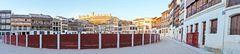 Castillo de Peñafiel desde la Plaza del Coso
