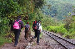 Trekking a Aguascalientes con colombianos