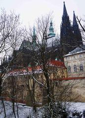 Castillo de Praga con su catedral