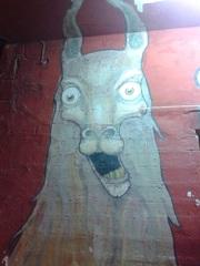 Grafitti llama en Tilcara :D