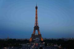Torre Eiffel desde El Trocadero, París
