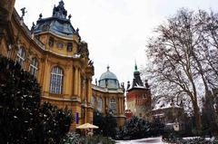 Dentro del Castillo de Vajdahunyad, Budapest