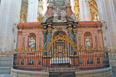 Altar de la catedral de Segovia