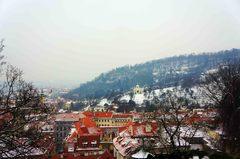 Vista del barrio de Malá Strana, Praga