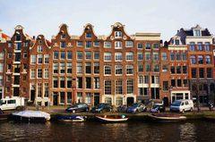 Casas típicas de Ámsterdam