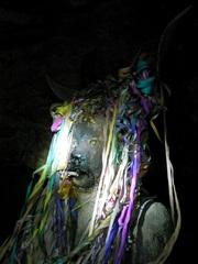 El Tío, en las minas de Potosí, Bolivia