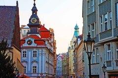 Edificios de la calle Pařížská, Praga