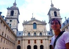 Yo y la Basílica de El Escorial, España