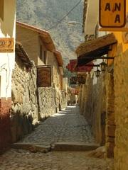 El pueblo de Ollantaytambo