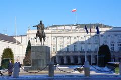 Palacio presidencial de Varsovia