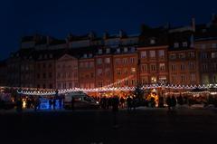 Plaza mayor de Varsovia