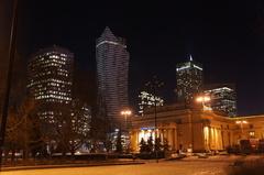 Centro financiero de Varsovia