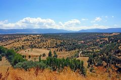 Vista desde Pedraza, España