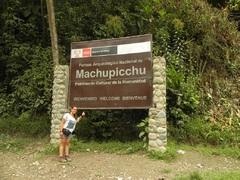 Llegamos a Machu Picchu!