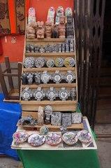 Artesanías en el Mercado de Brujas